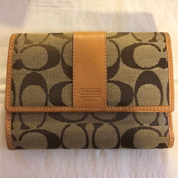 Coach Handbags - authentic coach wallet